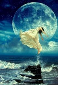 Ocean Moon Goddess