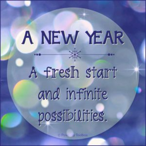New Year - Possibilities